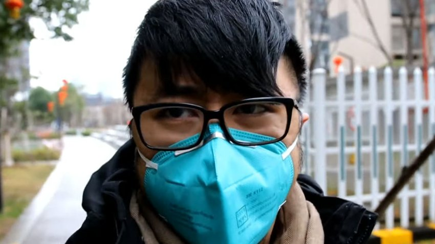 Warren Lee, 29, arrived in China on Jan. 20. He planned to stay two weeks. He's still there under quarantine.