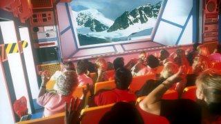 Wild Arctic Simulator in SeaWorld