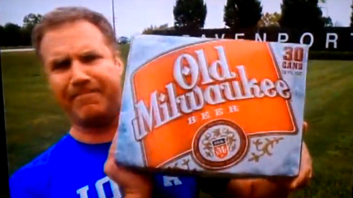 Will Ferrell Beer Ads