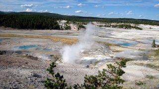 Yellowstone Hot Spring