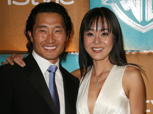 Yunjin Kim and Daniel Dae Kim-640