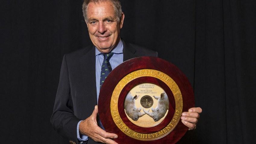 Zoo Award Ian Craig