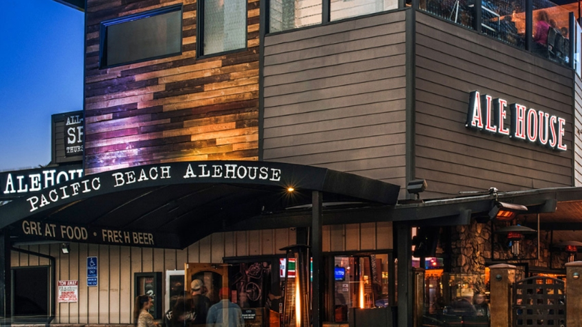 Ale House in Pacific Beach