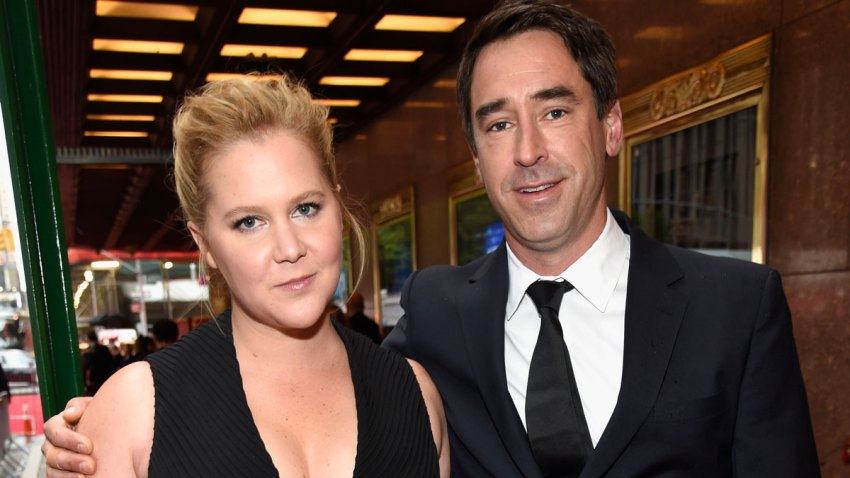 In this June 10, 2018, file photo, Amy Schumer and Chris Fischer attend the 72nd Annual Tony Awards at Radio City Music Hall in New York City.