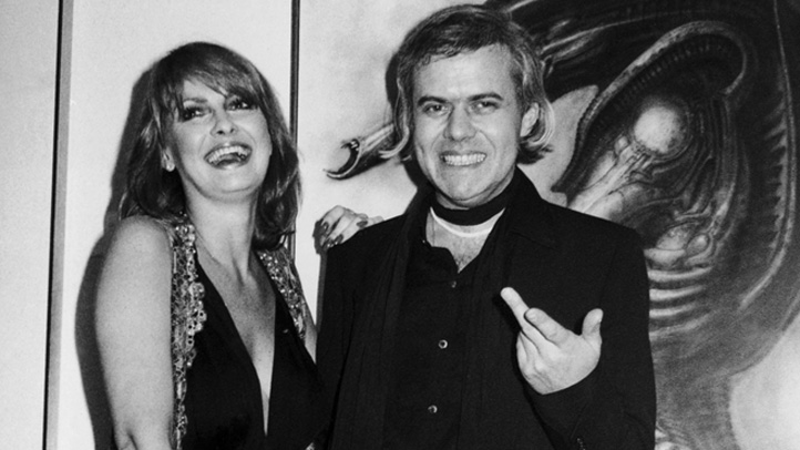 US New York Artist H.R. Giger And Anneka Di Lorenzo