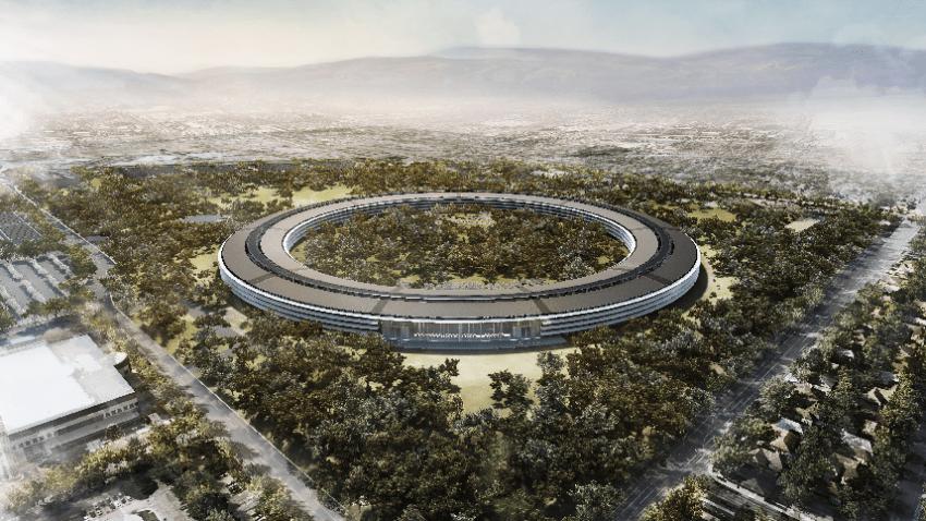 Apple's Spaceship Campus Dec. 2011 design