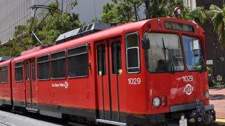 San Diego's MTS Trolley