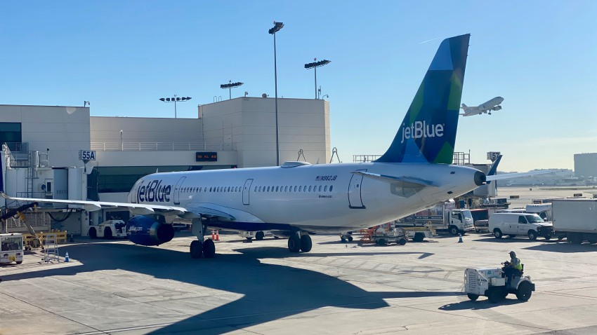 Avión de JetBlue