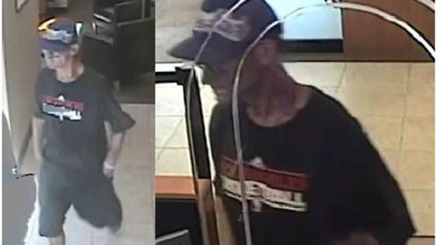 Chase bank robber suspect
