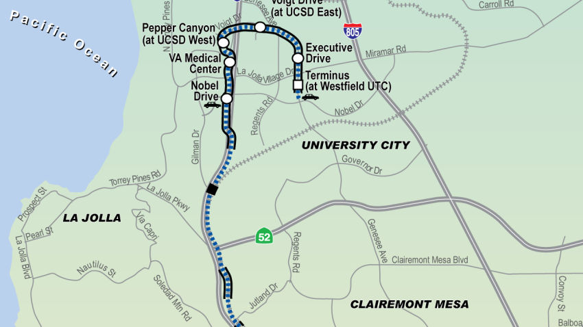blue line trolley extension mid coast utc sr52