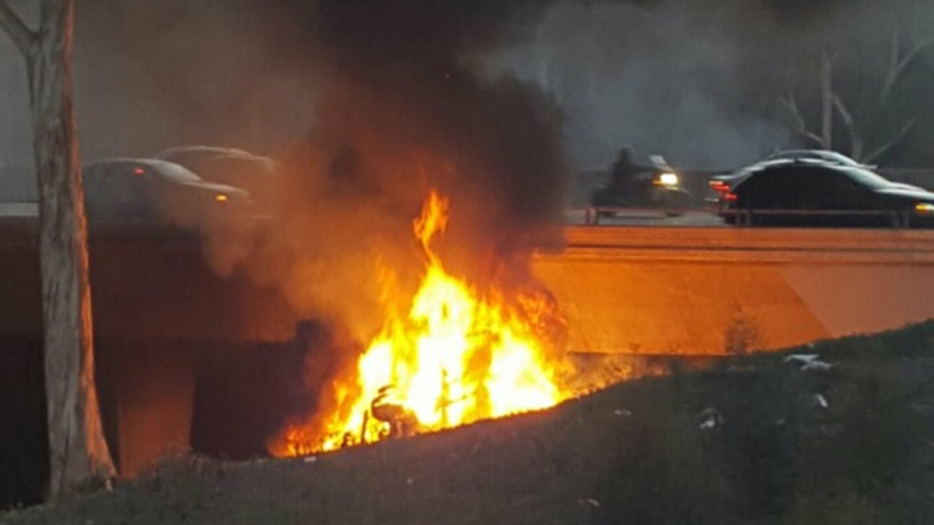 box truck fire 1
