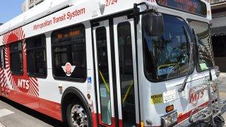 MTS San Diego Bus Generic 2