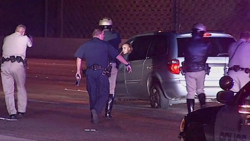 carjacking chase suspect