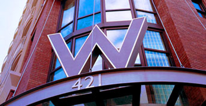 The W Hotel Exterior