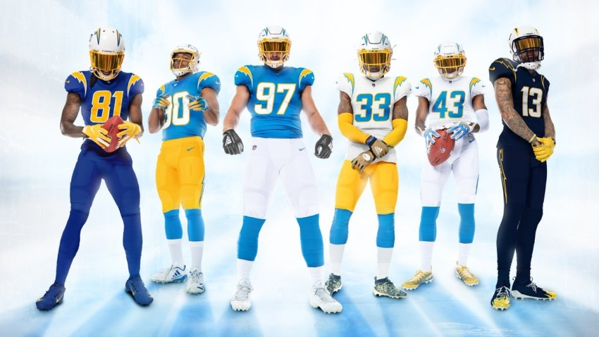 Chargers Pay Tribute to the Past With New Uniforms – NBC 7 San Diego