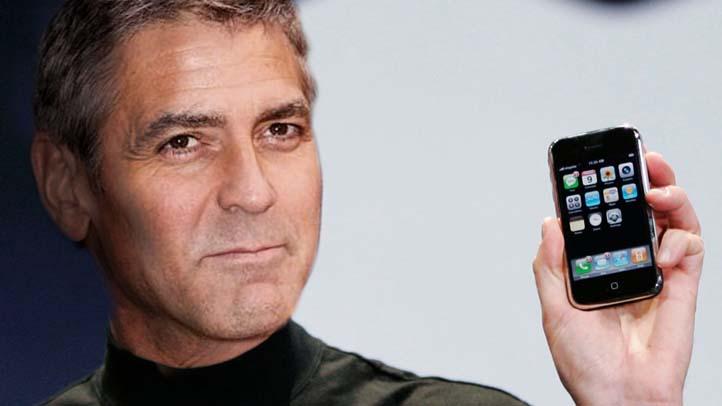 Steve Jobs George Clooney