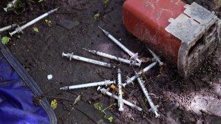 APTOPIX Needles Everywhere