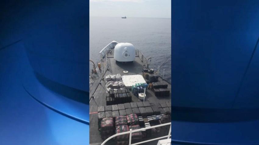 cocaine seizure US Coast Guard largest web