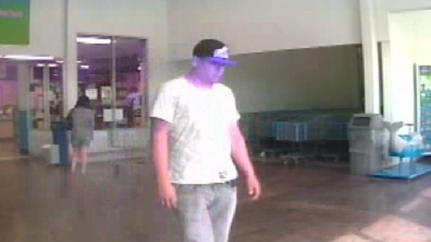 distracted shopper theft suspect