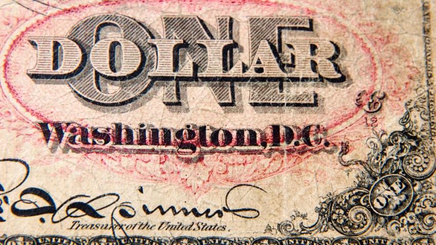 One Dollar Washington D.C.