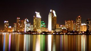 Downtown San Diego beauty shot