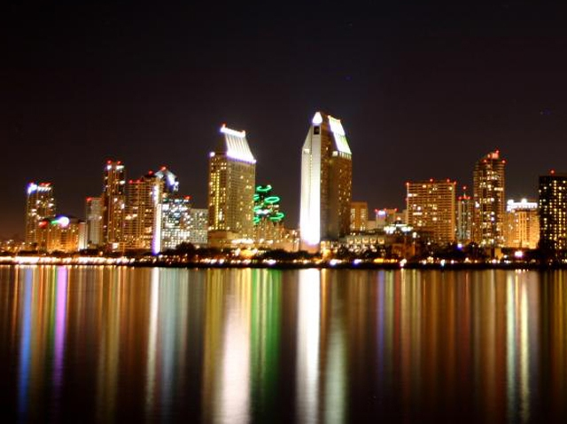 Downtown San Diego beauty shot