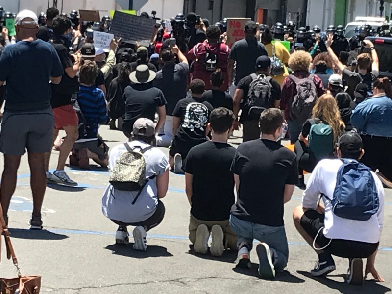 Photos: Downtown San Diego 'Justice for George' Protests on May 31, 2020