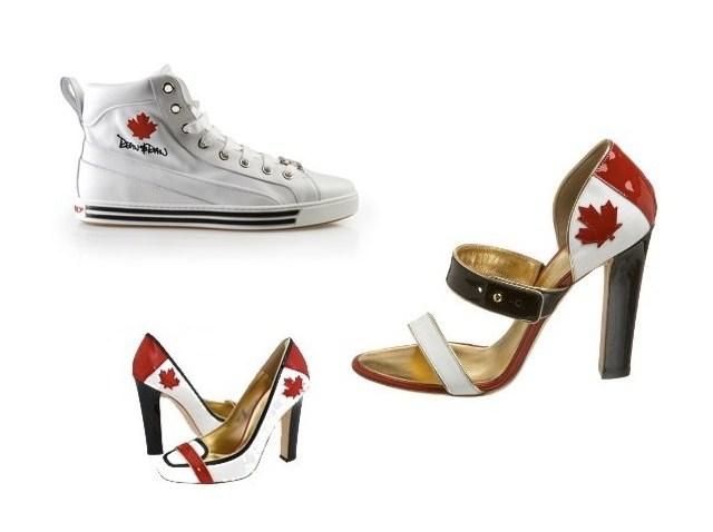 dsquared2 maple leaf shoes