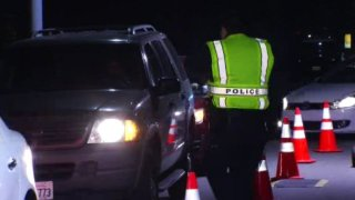 dui checkpoints foto