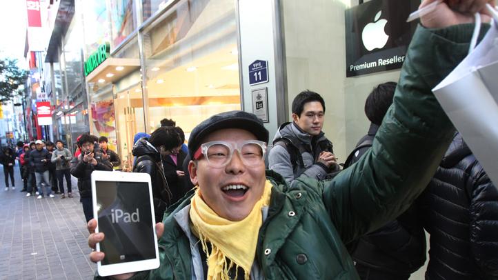 APTOPIX South Korea Apple iPad Mini