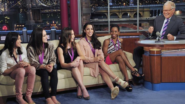 Late Show US Womens Gymnastics Olympics