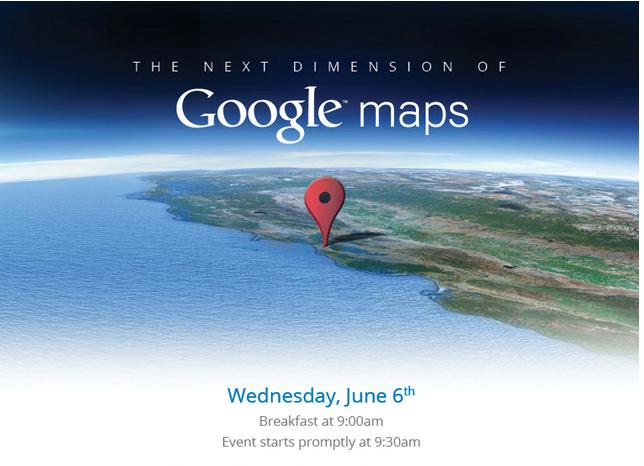 google maps event