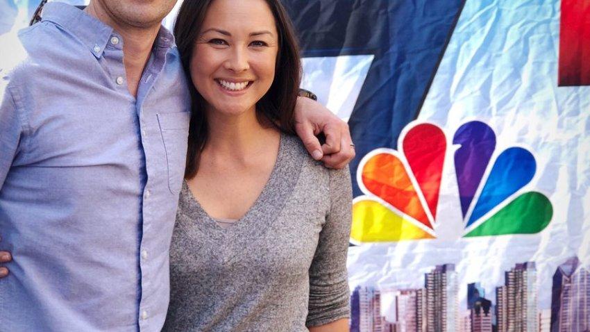 Mari and Greg at Chinese NY Festival
