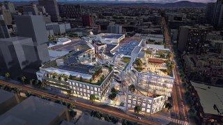 A rendering of Horton Plaza, once it's redeveloped.