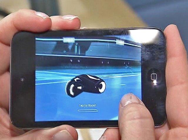 iOS-Tron-Game