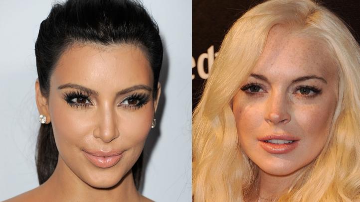 kardashian lohan split