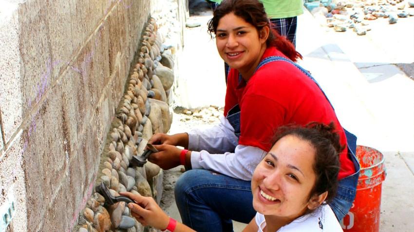 karla gonzalez ART Wall National City