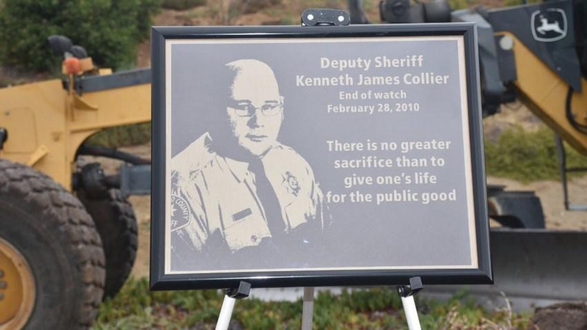 ken collier plaque