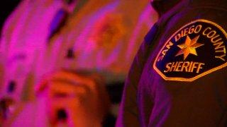 a SDSO deputy in uniform