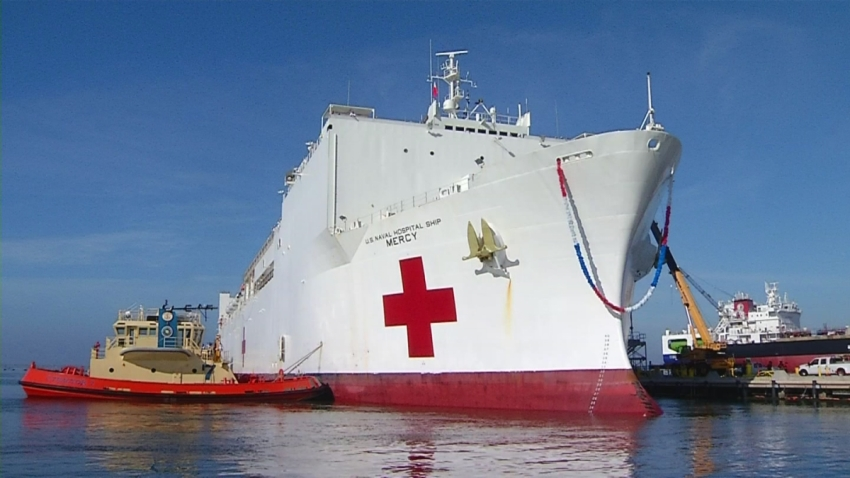 San Diego Navy Corpsman Shares What Life is Like On Board USNS Mercy