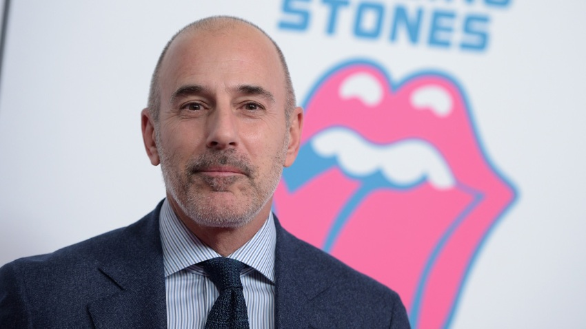 In this file photo, Matt Lauer attends The Rolling Stones celebrate the North American debut of Exhibitionism at Industria in the West Village on November 15, 2016 in New York City.