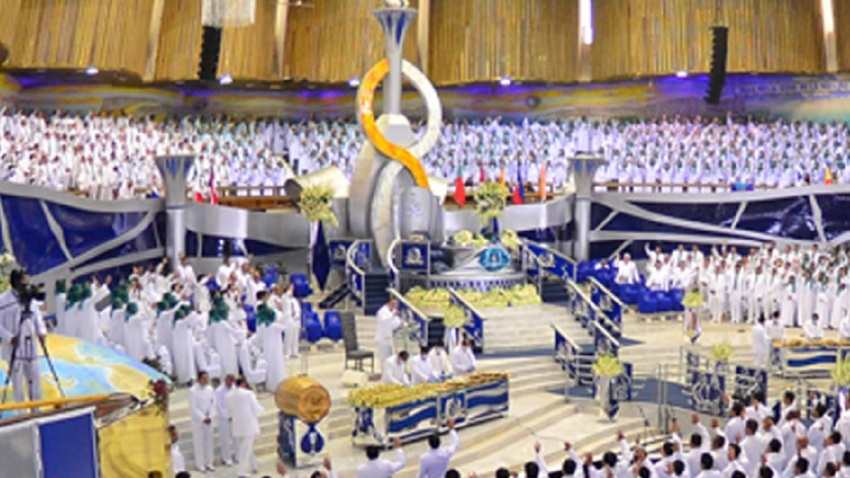 Ceremonia de la iglesia La Luz del Mundo