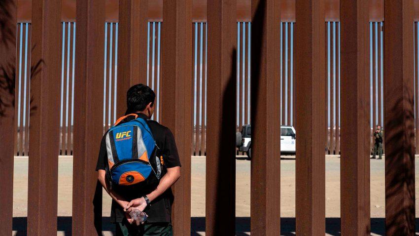 Muro fronterizo con Mexico