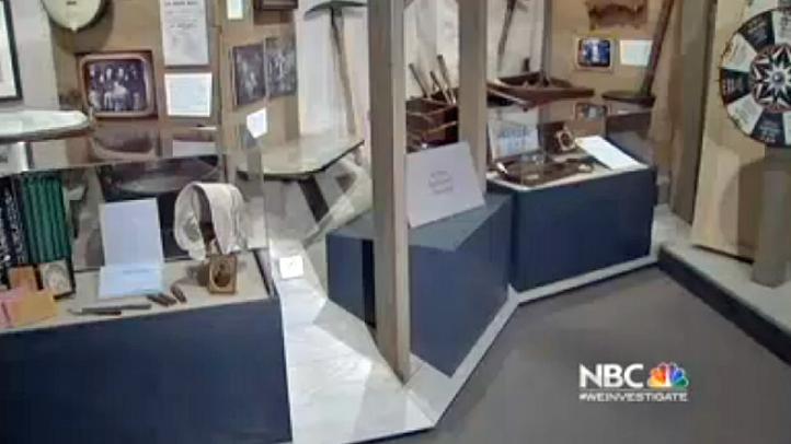 Museum Gold Rush Display
