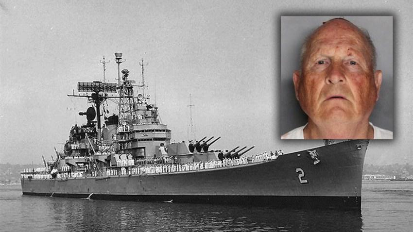 navy ship golden state killer joseph deangelo
