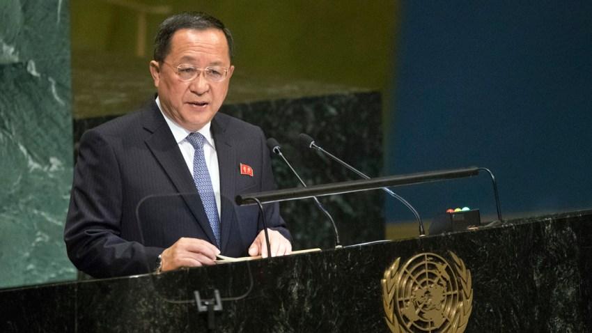 APTOPIX UN General Assembly North Korea