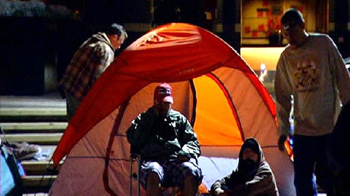 occupy san diego tent 46785632