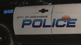 Patroll car of Oceanside Police