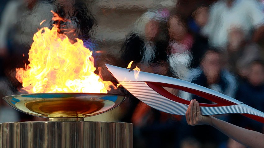 olympic flame torch crop