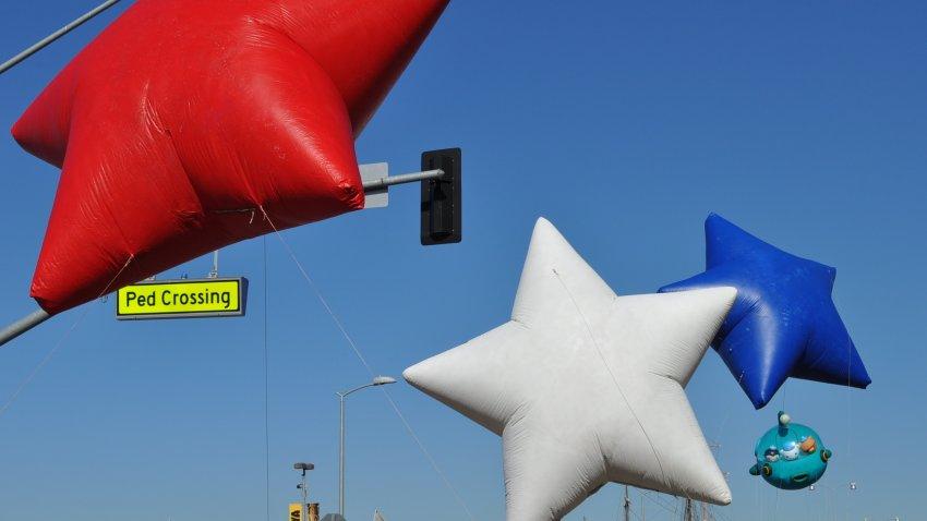 parade balloons san diego